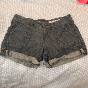 Denim Anthropologie jean shorts level 99